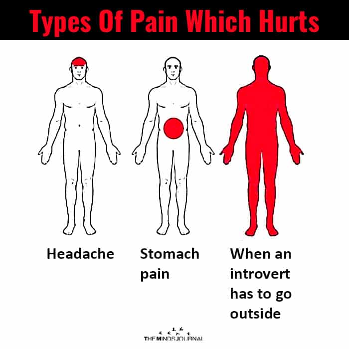 Types of pain which hurts