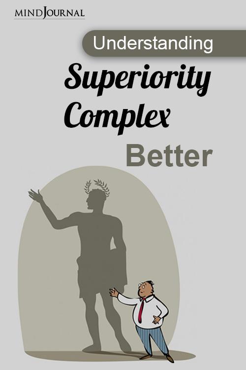 Understanding Superiority Complex Better pin