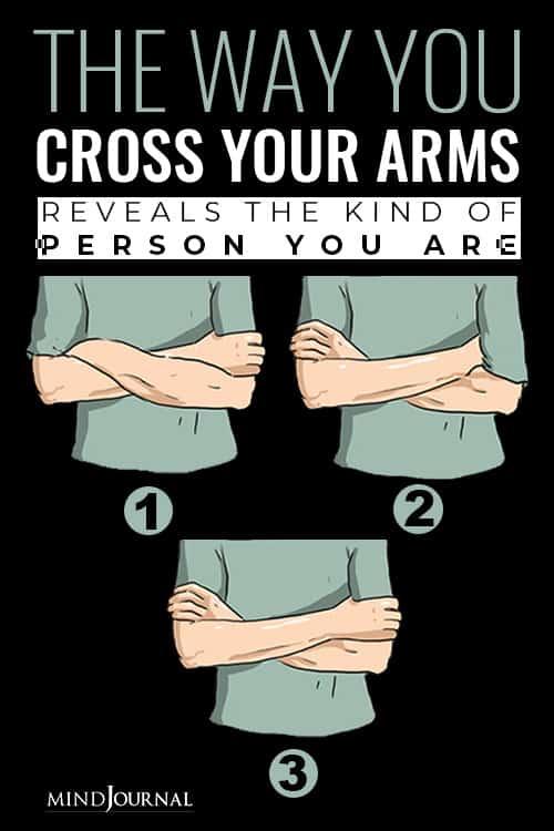 Way Cross Arms Reveals Kind Of Person You Are pin