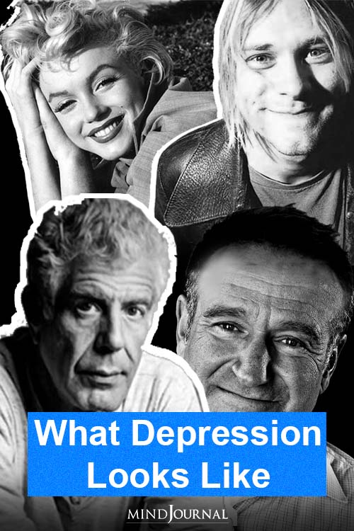 What Depression Looks Like pin