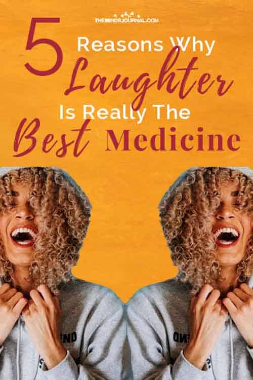 Why Laughter Really The Best Medicine Pin