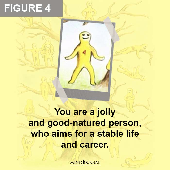 You are a jolly and good natured person