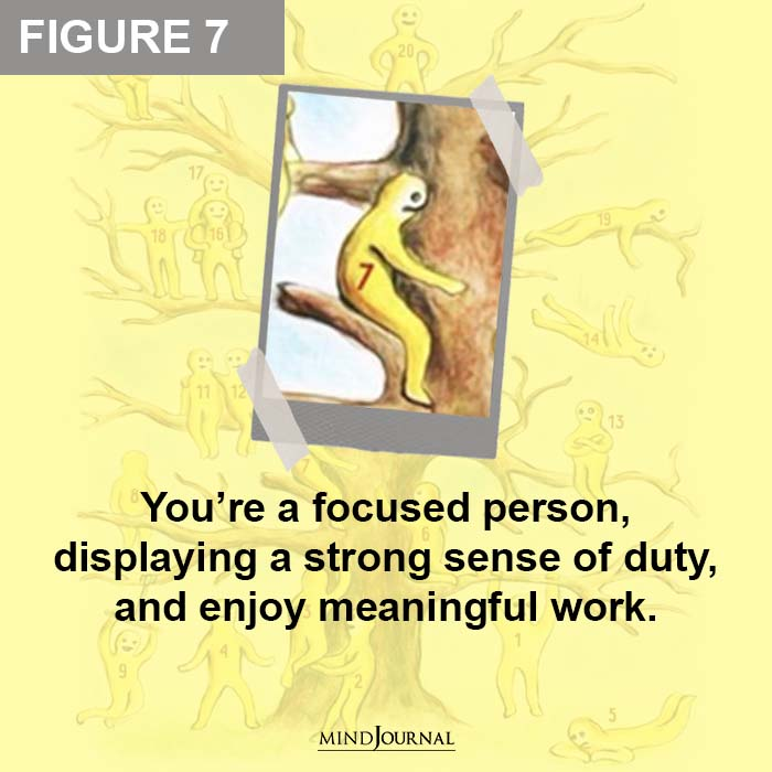 Youre a focused person
