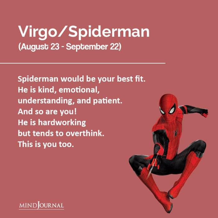 marvel zodiac Spiderman