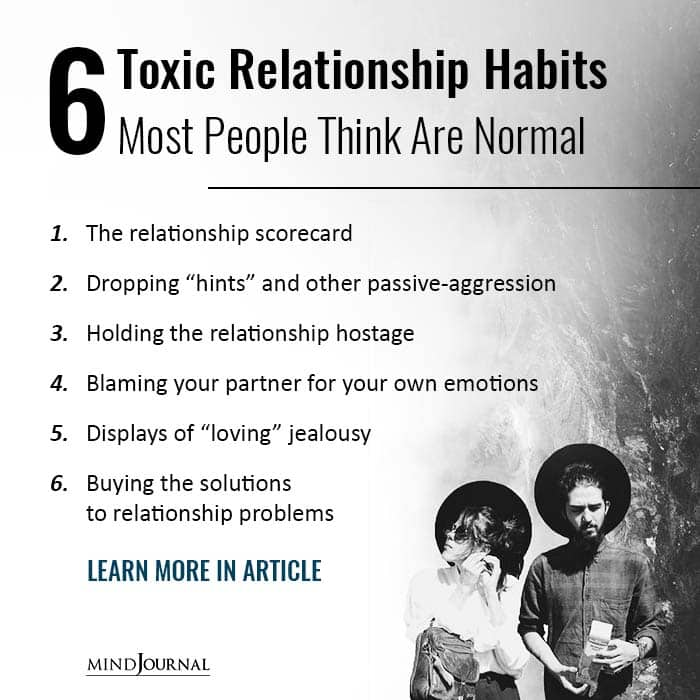 6 Toxic Relationship Habits Most People Think Are Normal