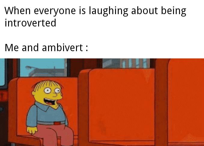 ambivert memes