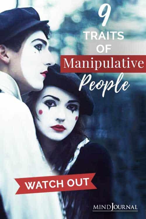 Traits of Manipulative People Pin