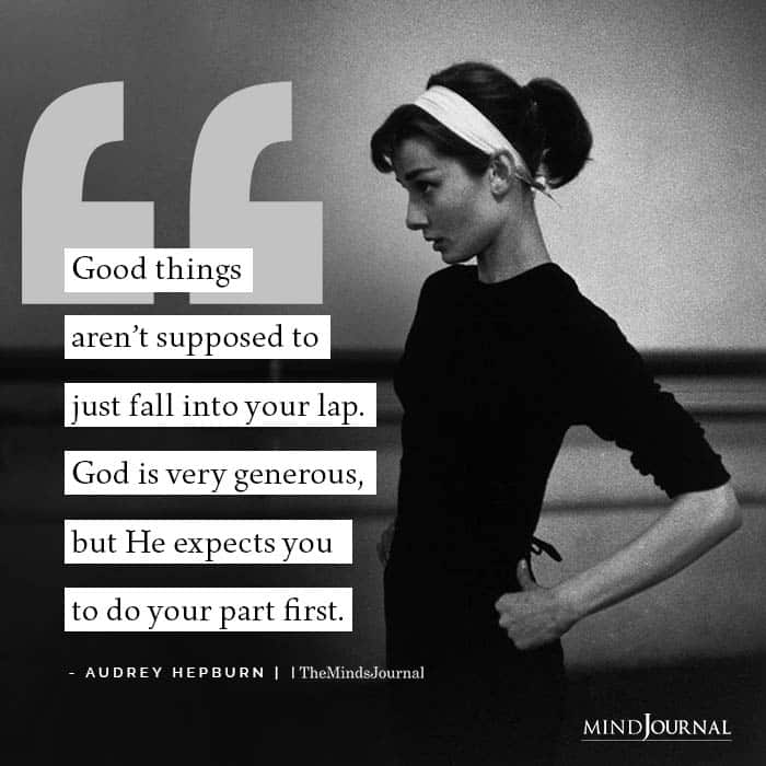 Good things arent supposed to just fall