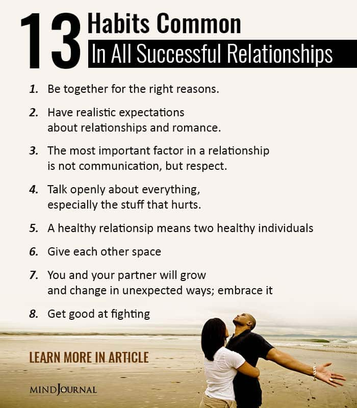 Habits of successful couples