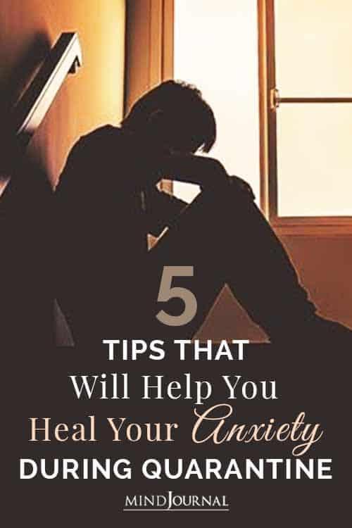 Heal Anxiety During Quarantine Pin