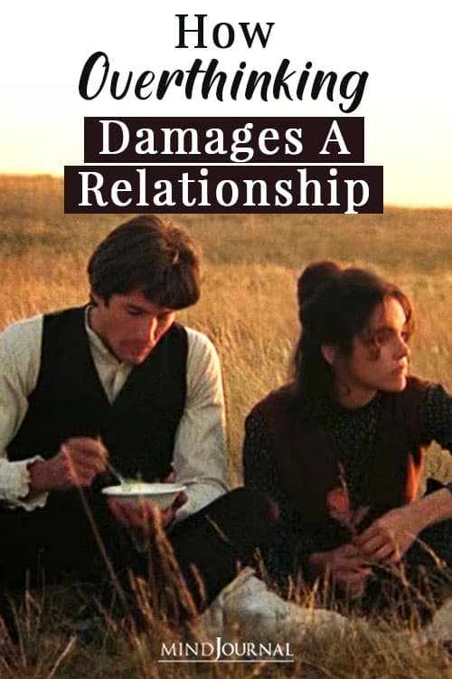 HowOverthinking Damages A Relationship Pin