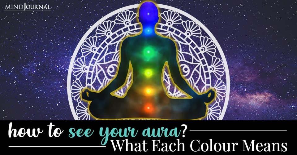 How See Aura Each Colour Means