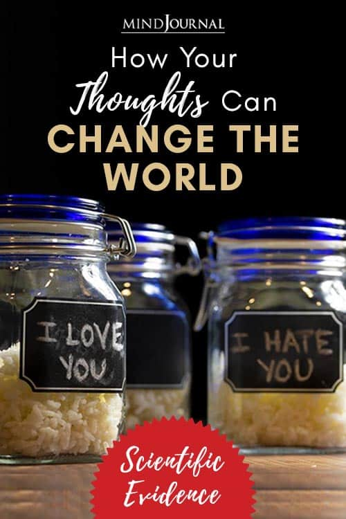 Your Thoughts Can Change the World Pin