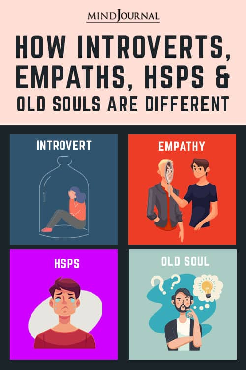 Introverts Empaths HSPs Old Souls Pin