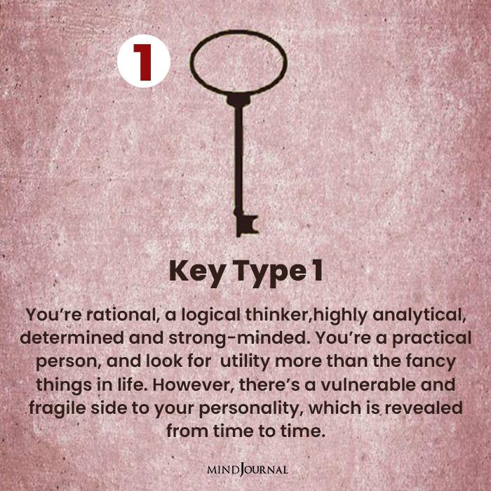 Key Personality Test one