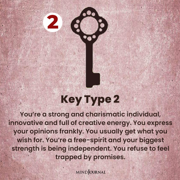 Key Personality Test two