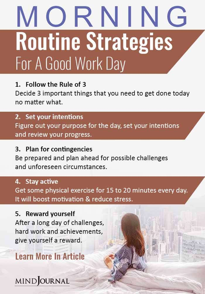 Morning Routine Strategies For A Good Work Day