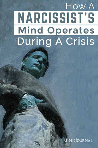 Narcissists Mind Operates During Crisis Pin