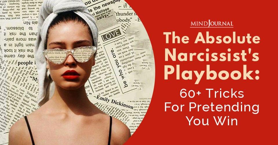 Narcissists Playbook Tricks Pretending You Win