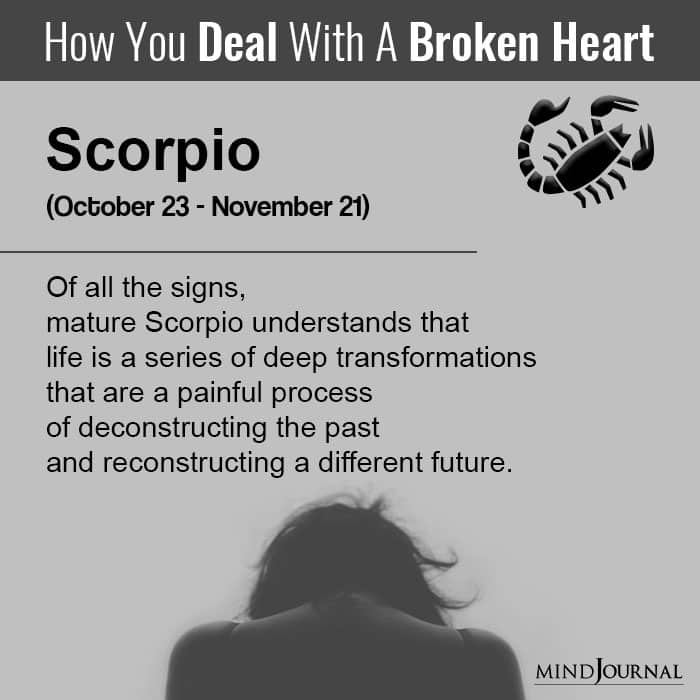 How You Deal With A Broken Heart Based on Your Zodiac Sign