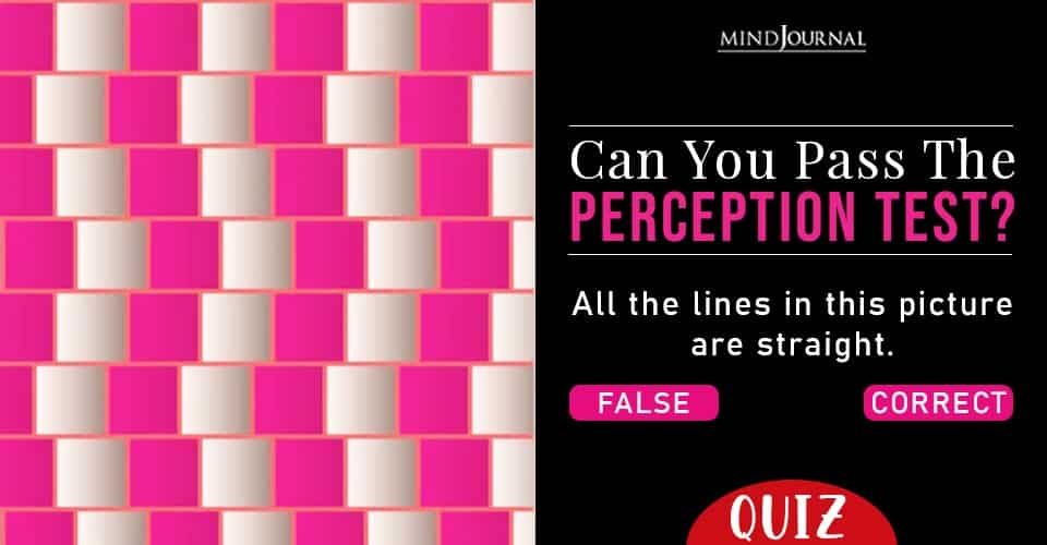 Pass Perception Test