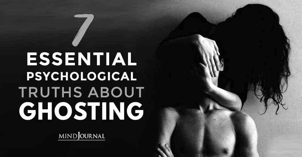 Psychological Truths About Ghosting