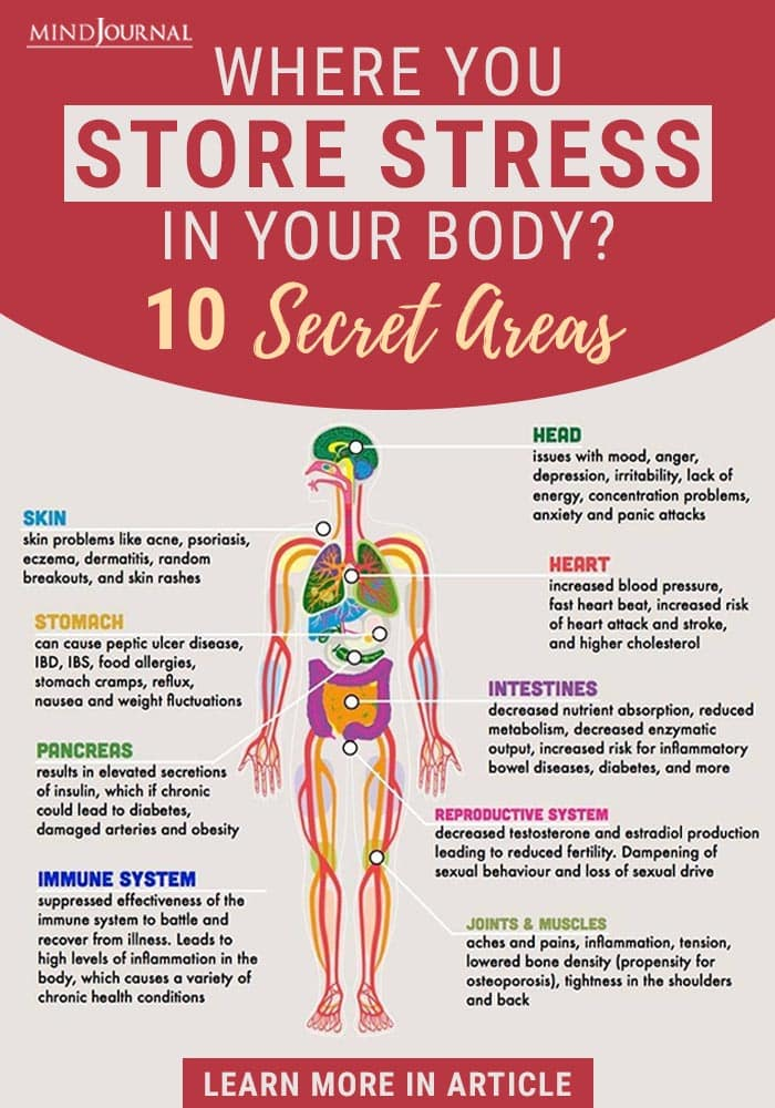 Secret Areas You Store Stress In Your Body Info