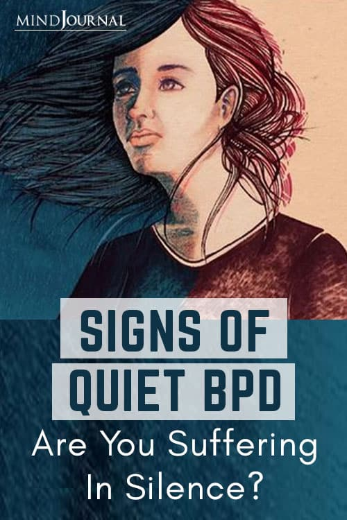 Signs Quiet BPD Suffering In Silence pin