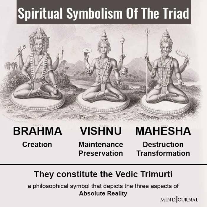 spiritual symbolism of the triad