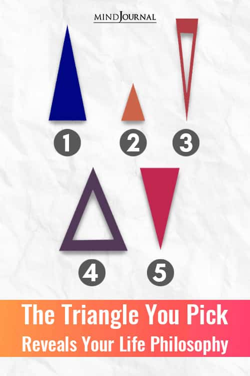 Triangle You Pick Reveals Your Life Philosophy Pin