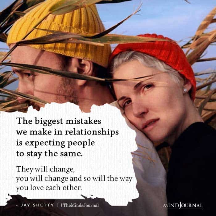 biggest mistakes we make in relationships