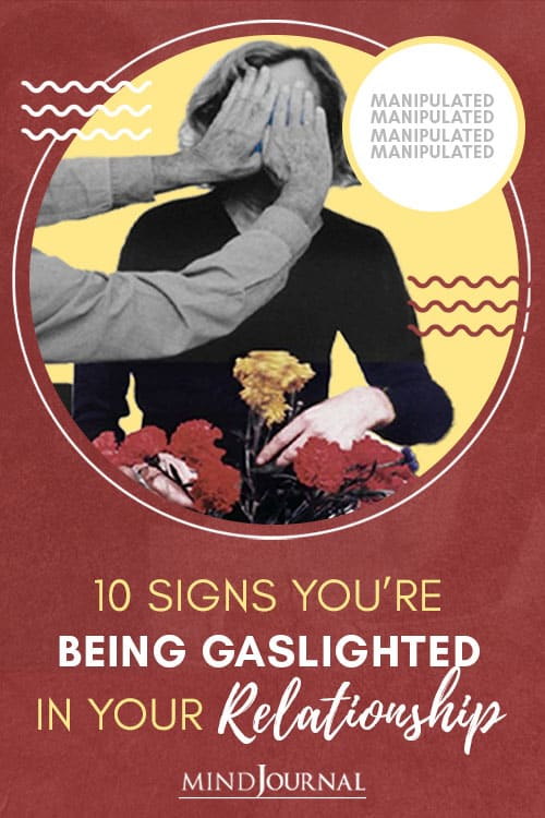 Warning Signs You're Being Gaslighted in Your Relationship Pin