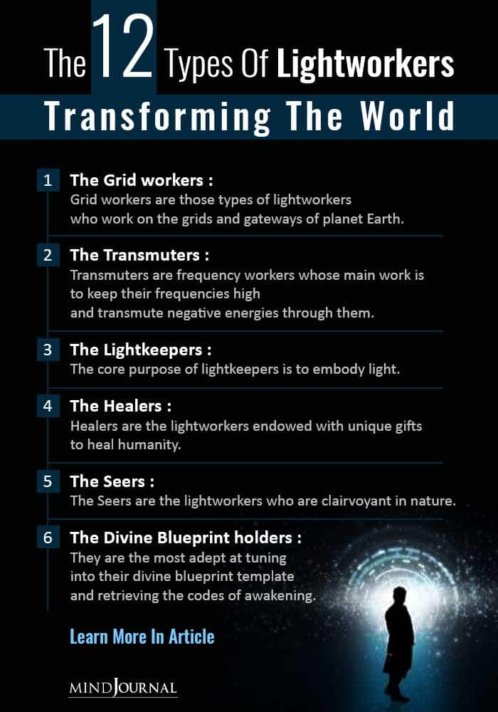 The 12 Types of Lightworkers Transforming The World