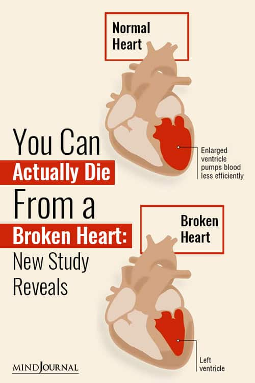 Actually Die From a Broken Heart New Study Reveals Pin