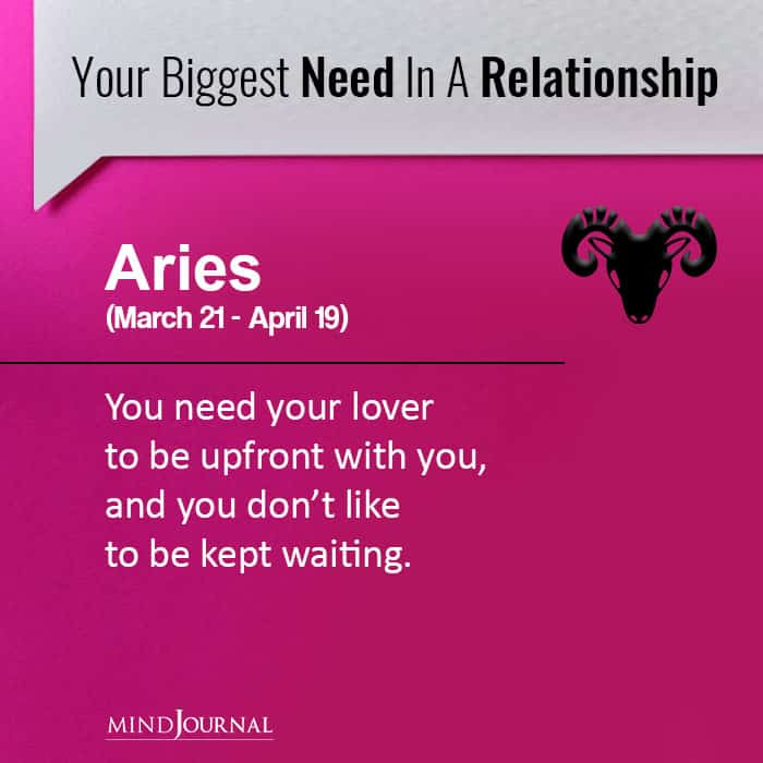 Your Biggest Need in a Relationship Based On Your Zodiac Sign
