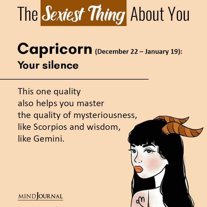 The Sexiest Thing About You Based On Your Zodiac Sign