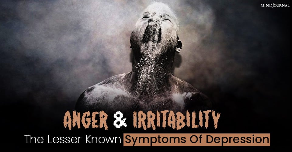 anger and irritability depression