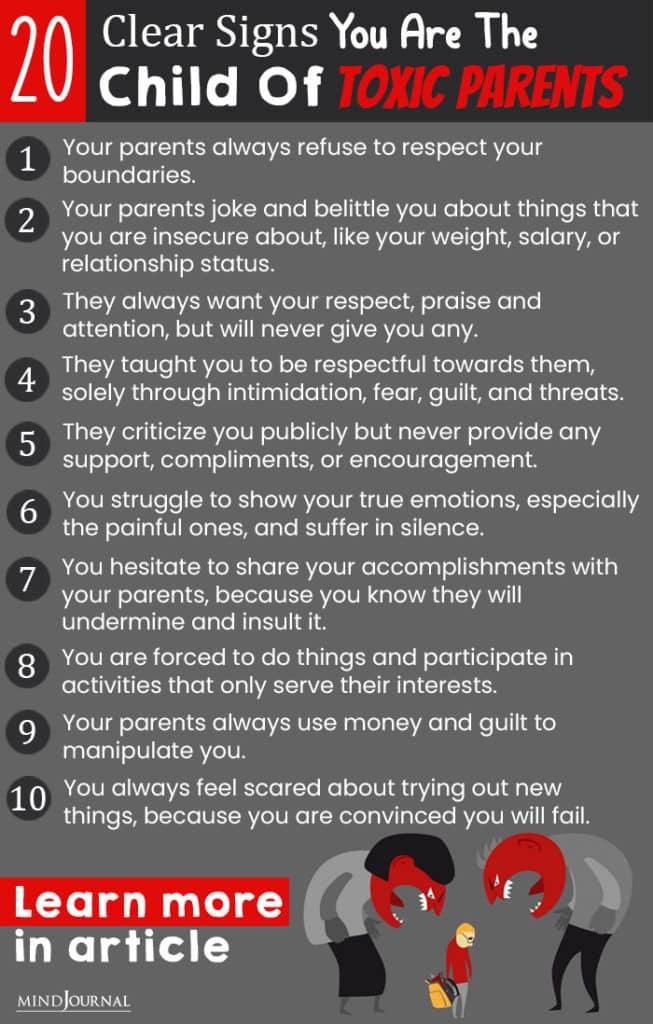 child of toxic parents info