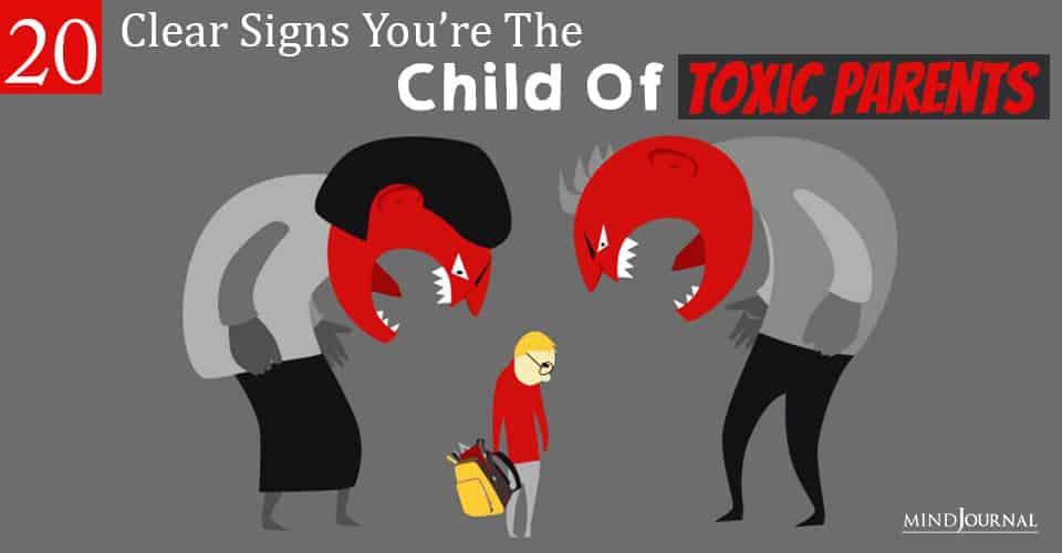 child of toxic parents