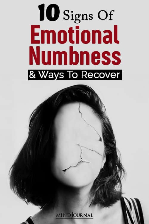 emotional numbness and ways to pin