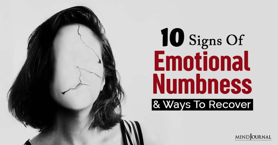 emotional numbness and ways to