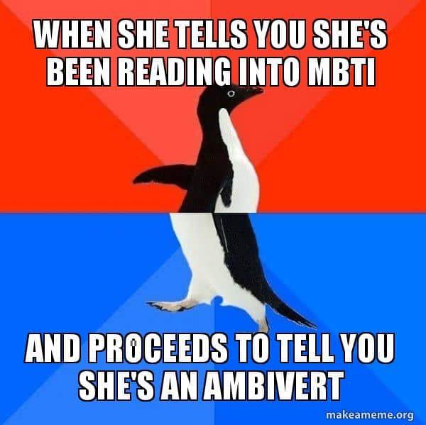40+ Rib-Tickling Ambivert Memes