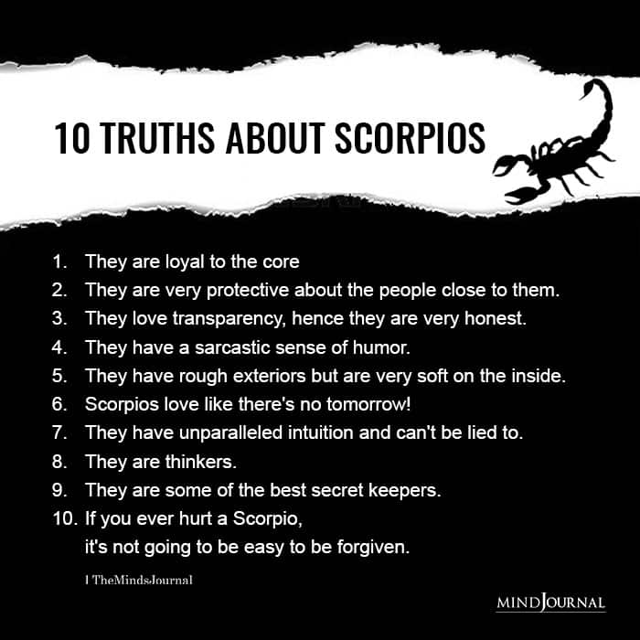 Truths About Scorpios