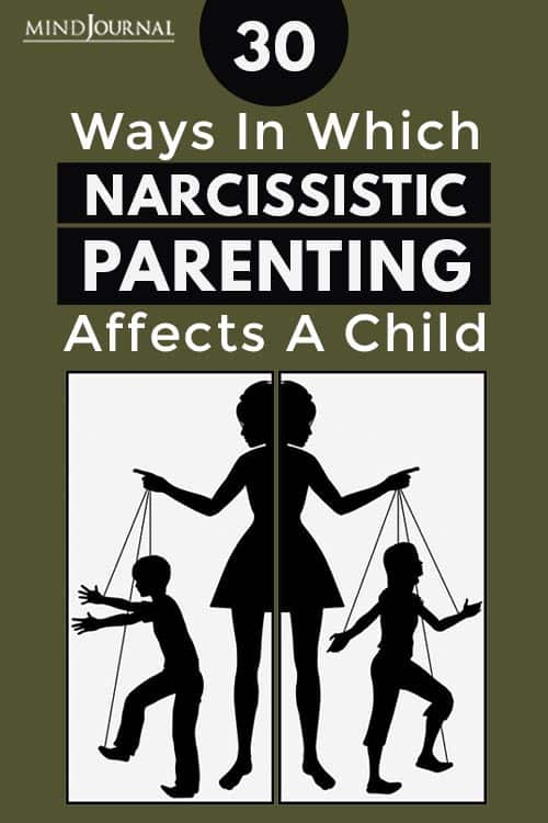 In Which Narcissistic Parenting Affects A Child Pin