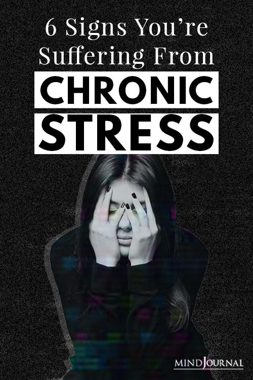 Suffering From Chronic Stress Pin