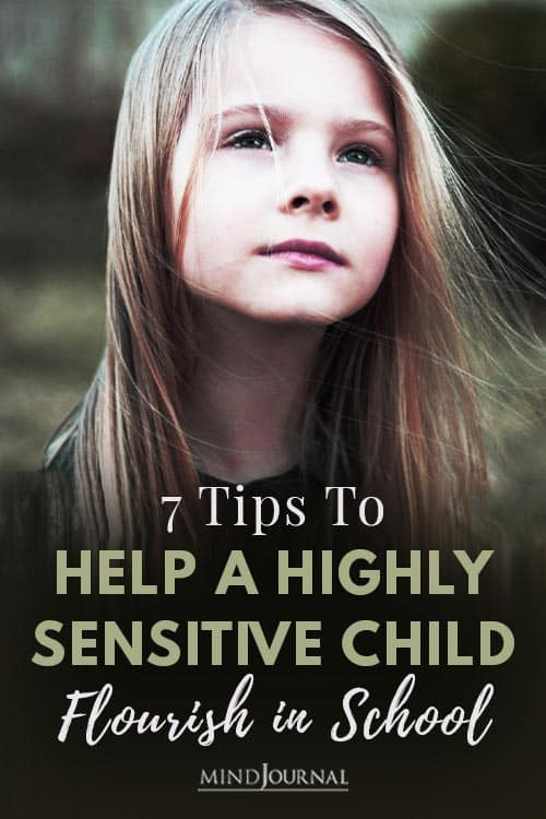 Tips to Help A Highly Sensitive Child Flourish in School Pin