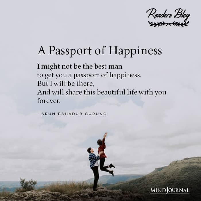 A Passport of Happiness