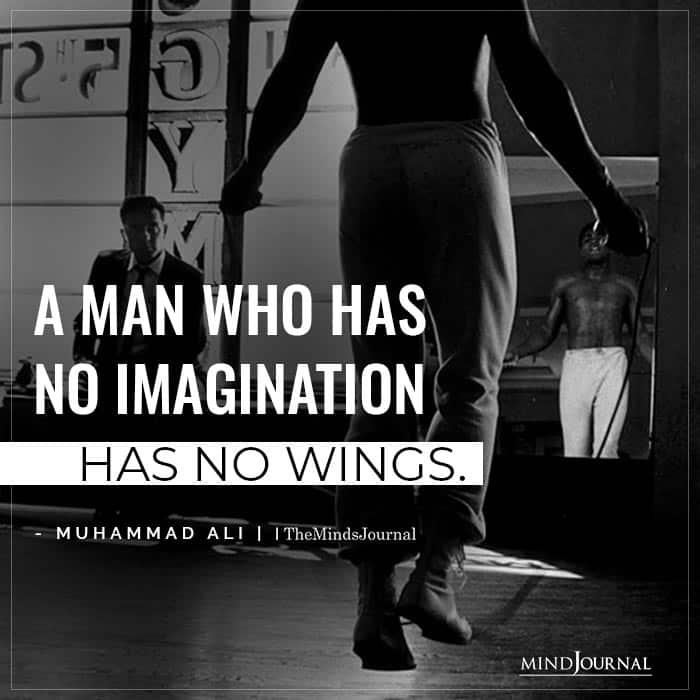 man who has no imagination