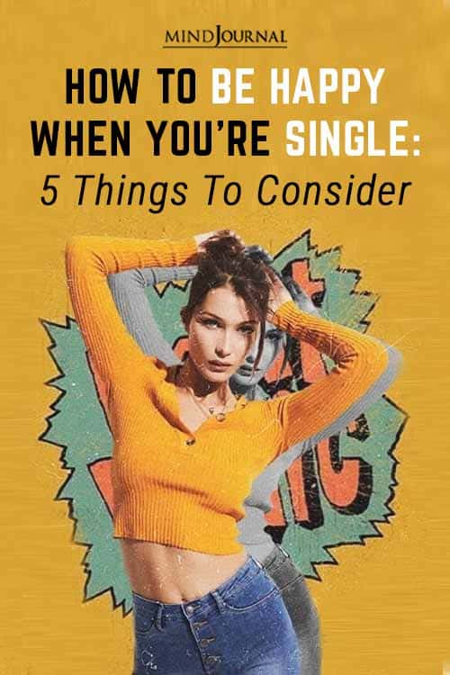 Be Happy When youre Single Pin