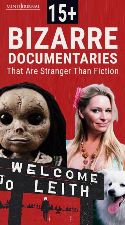 Bizarre Documentaries Stranger Than Fiction Pin